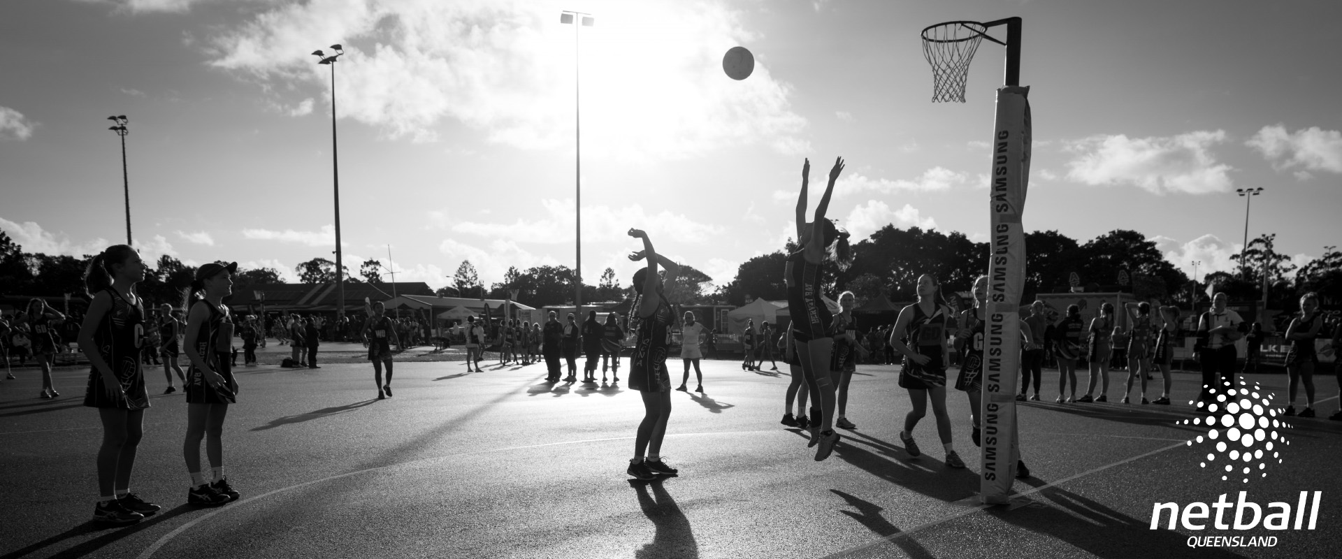 Netball QLD Footer